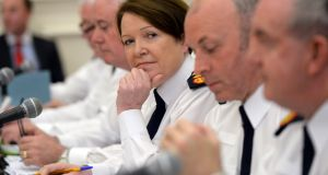 Garda Commissioner  Nóirín O'Sullivan: Facing questions about the exact nature of her instructions to her barrister. Photograph: Cyril Byrne/The Irish Times