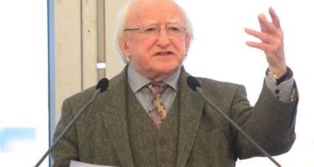 In an interview with The Irish Times President Higgins noted the lack of discussion on the need to implement reform of the system for over 5,000 asylum seekers. Photograph: The Irish Times