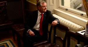 Brendan Howlin: the  Wexford TD has become the 12th leader of the Labour Party. Photograph: Cyril Byrne / The Irish Times