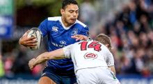 Leinster centre Ben Te'o has been named in England's squad to tour Australia this summer. Photograph:  Dan Sheridan/Inpho