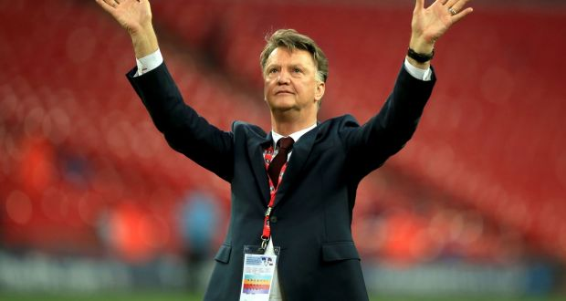 1e3307e23c Manchester United manager Louis van Gaal looks certain to be on his way out  of Old
