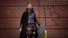 Aspiring 'Vikings' invade Dublin city centre