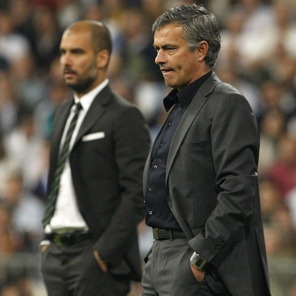 Jose Mourinho And Pep Guardiola Rivalry To Define Era In Manchester
