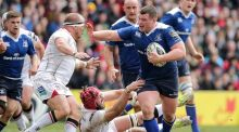 Jack McGrath  tries to make headway during  April's defeat to Ulster in Belfast. Photograph: Morgan Treacy/Inpho