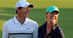 Rory McIlroy  has said he and his  fiancée Erica Stoll are contemplating the prospect of starting a family in the next year or two. Photograph: Karim Sahib/AFP/Getty Images