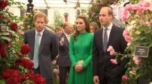 The Royals visit Chelsea Flower Show