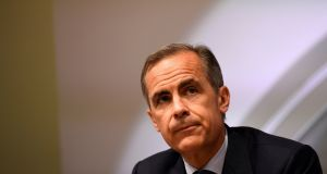 "Bank of England governor Mark Carney: Prominent Vote Leave supporter, Tory MP Jacob Rees-Mogg accused the governor of damaging the bank's reputation by ""taking sides"" in the increasingly ill-tempered debate over Britain's future in Europe. Photograph: Dylan Martinez/Reuters"