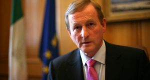 Enda Kenny: Areas already identified by the Taoiseach include the preparation of a plan for housing in the first 100 days. Photograph: The Irish Times