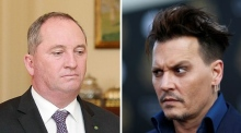 'Inbred with a tomato': Depp continues war of words with Barnaby Joyce