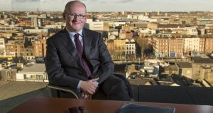 Central Bank governor Philip Lane: life and general insurers should not seek to compensate for current low returns .Photograph: Dara Mac Dónaill/The Irish Times