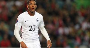 Anthony Martial could form part of the deadly attack alongside Dimitri Payet and Antoine Griezmann.