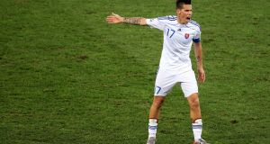 Marek Hamsik is Slovakia's biggest star and he will need to show he can deal with the pressure on the big stage.