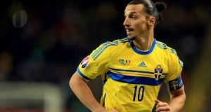 Age may finally be slowing Zlatan Ibrahimovic but he can still be deadly in front of goal. Photograph: Getty