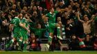 Jonathan Walters' goals were crucial during qualifying and he will need to be firing on all cylinders if Ireland are to get out of the group. Photograph: Getty