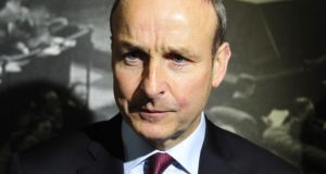 "Fianna Fáil leader Micheál Martin: said the proposed period for the Dáil to rise is ""too early and it is too long"". Photograph: Aidan Crawley"