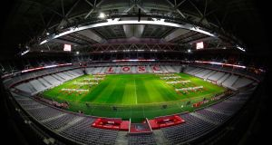 Stade Pierre Mauroy in Lille. Photograph: Laurence Griffiths/Getty Images