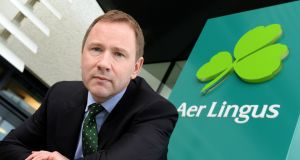 Stephen  Kavanagh, chief executive officer, Aer Lingus. Photograph: Eric Luke / The Irish Times