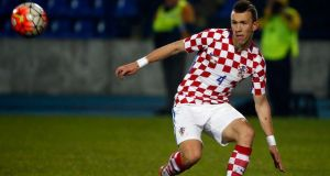 Ivan Perisic was Croatia's top scorer in qualifyin. Photograph: Getty