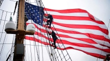 The Eagle has landed: America's Tall Ship visits Dublin