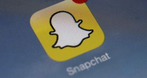 Snapchat allows users to post photographs or videos that disappear after viewing. Photograph: Getty Images