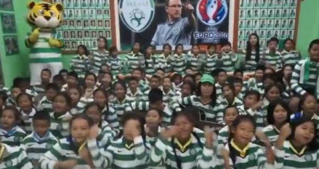Thai Tims strike right note with 'You'll never beat the Irish'