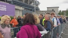 Die-hard Springsteen fans queue outside Croker