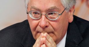 "Mervyn King, former governor of the Bank of England: ""All these temporary arrangements to keep the euro together will not last forever. And it is not obvious to me what plans people are putting in place to ensure its continuation."" Photograph: Simon Dawson/Bloomberg"