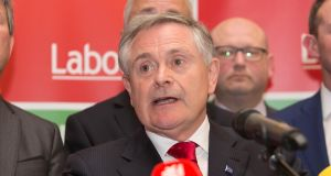 "Labour leader Brendan Howlin: ""Most of the Labour Party are making the assumption I have made, which is that this outfit is not a long-term solution to a government."" Photograph: Gareth Chaney Collins"