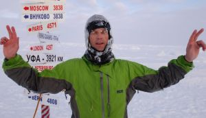 Pole star: ultrarunner Michael Collins in the Arctic