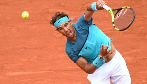 Rafael Nadal has pulled out of the French Open with a wrist injury. Photograph:  Martin BureauAFP/Getty Images
