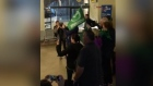 Connacht fans fill Galway bus station with song