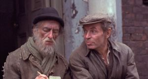 David Kelly and Brendan Cauldwell in 'Strumpet City' (1979). Photograph: RTÉ Archive