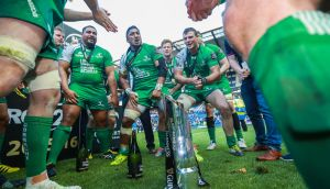 Connacht – champions of Ireland, Wales, Scotland and Italy no less – have awoken the west like never before after their band of brothers beat their historical big brothers from Leinster in Saturday's historic Guinness Pro12 final. Photograph: James Crombie/INPHO