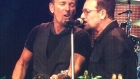 Springsteen and Bono perform 'Because the Night' in Croke Park