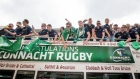 Champions Connacht given heroes' welcome at Galway homecoming