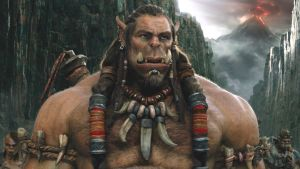 A detente with teeth: Toby Kebbell as Durotan, an orc looking to compromise