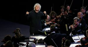 If a way were found to appoint Simon Rattle (above), Mariss Jansons, Gustavo Dudamel or Bernard Haitink as principal conductor of the NSO, the standard would rise, as would attendances