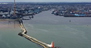 Councillors have long opposed the development of a new motorway across Dublin Bay. Photograph: Frank Miller