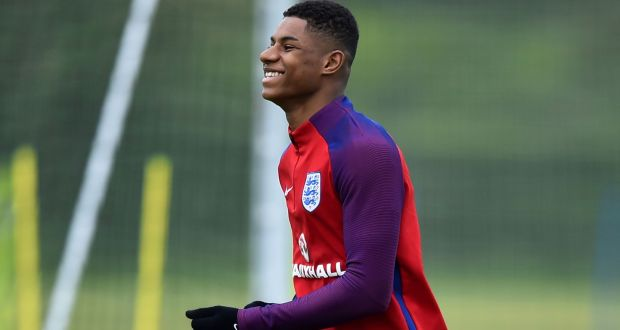 the best attitude 173b2 3ed90 Marcus Rashford named in England squad for Euro 2016