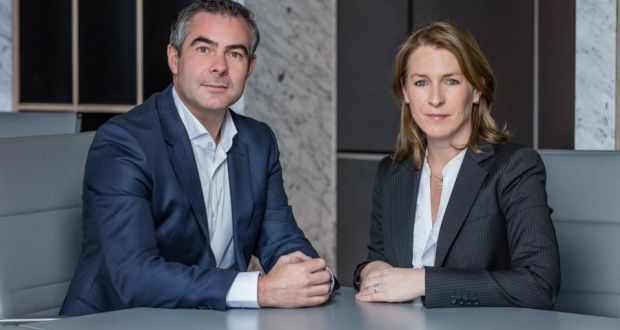 David Johnson, managing director of Inhous, with property consultant Barbara Carty