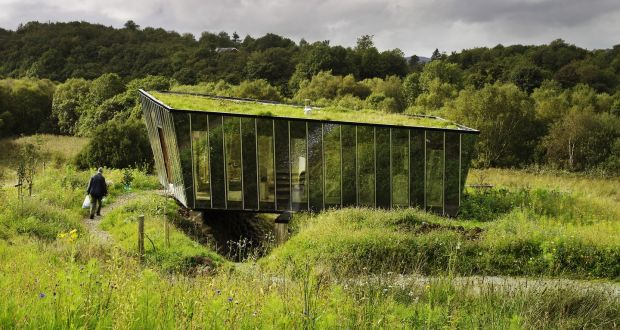 Mimetic House, Leitrim designed by architect Dominic Stevens. Photograph:  Ros Kavanagh