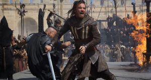 Michael Fassbender in Assassin's Creed. Photograph:  20th Century Fox