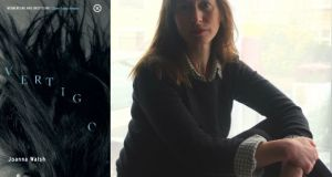 "The Irish Times on Joanna Walsh: ""The stories in Vertigo are by turns funny, surreal, modernist, remaining at all times accessible. Alienated as the voices are, they let the reader in ... Certain themes are woven throughout Vertigo: women as the second sex, consciousness as friend or foe, infidelity, body image, motherhood"""