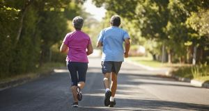 It is recommended to anyone in midlife that they avoid a sedentary lifestyle and exercise three times a week. Photograph: iStock