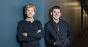"Patrick and John Collison: ""It was our first marketing campaign: trying to convince our parents to get a proper internet connection"""