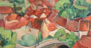 'A View of Semur-en-Auxois' whichde Veres sold for €41,000