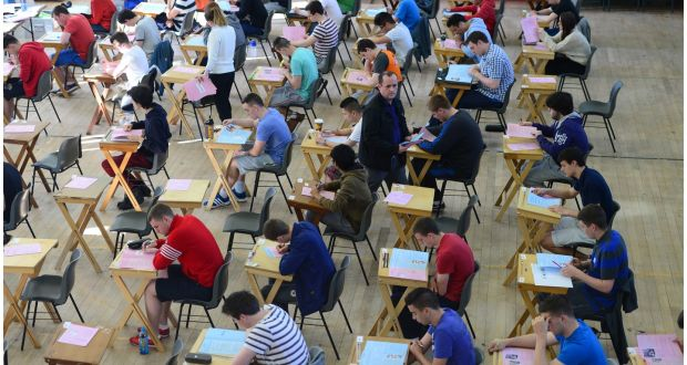 students sitting the leaving certificate at last pressure from pupils parents and