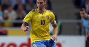 Zlatan Ibrahimovic: born to a Bosnian Muslim father and a Catholic Croatian mother in Malmö in 1981, he has come to personify Sweden's myriad contradictions. Photo: Donall Farmer/Inpho