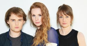 The Rua are, from left,  Jonathan, Roseanna and Alanna Brown. Their debut album, Essence, is out now.