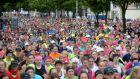 Women's mini-marathon in 2015. Photograph: Dara Mac Donaill / The Irish Times